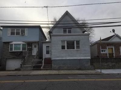 Jersey City Single Family Home For Sale: 251 Bartholdi Ave