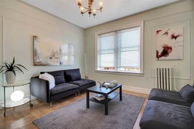 Weehawken Condo/Townhouse For Sale: 3718 Park Ave #E2