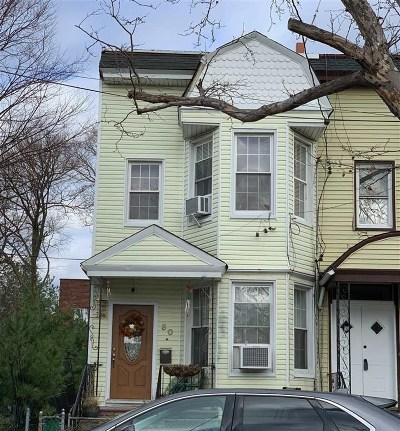 Jersey City Single Family Home For Sale: 50 Armstrong Ave