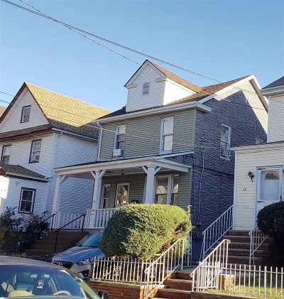 Jersey City Single Family Home For Sale: 30 Seaview Ave