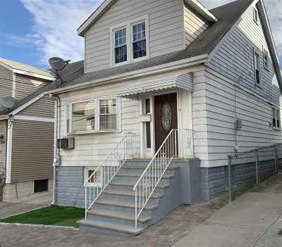 North Bergen Single Family Home For Sale: 7306 Cottage Ave