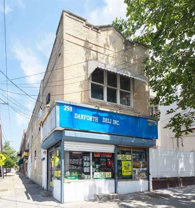 Jersey City Multi Family Home For Sale: 298 Danforth Ave