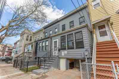 Jersey City Single Family Home For Sale: 128 North St