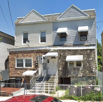 Jersey City Single Family Home For Sale: 108 Astor Pl