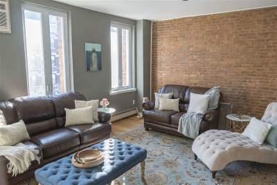 Hoboken Condo/Townhouse For Sale: 738 Washington St #3