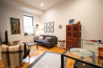 Jersey City Condo/Townhouse For Sale: 186 Wayne St #213
