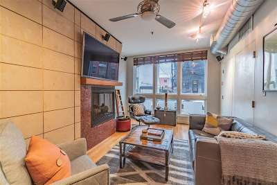 Hoboken Condo/Townhouse For Sale: 122 Madison St #1