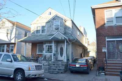 North Bergen Single Family Home For Sale: 8521 2nd Ave