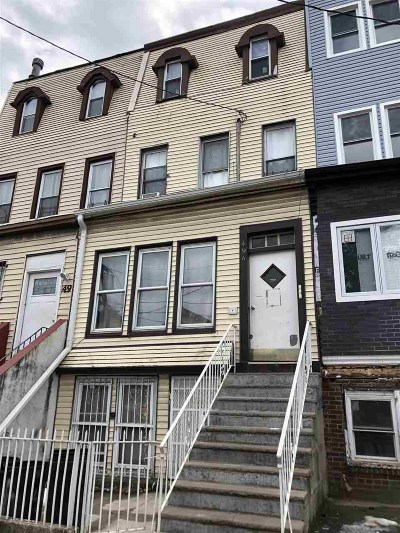 Jersey City Multi Family Home For Sale: 49 Jewett Ave