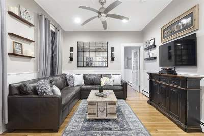 Hoboken Condo/Townhouse For Sale: 723 Willow Ave #1L