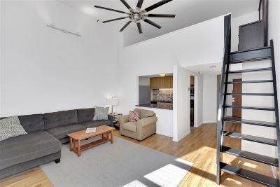 Hoboken Condo/Townhouse For Sale: 80 Park Ave #2F