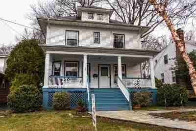 Leonia Single Family Home For Sale: 161 Oakdene Ave
