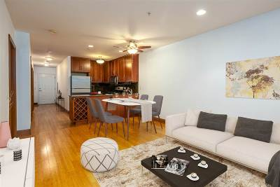 Jersey City Condo/Townhouse For Sale: 99 Montgomery St #3C