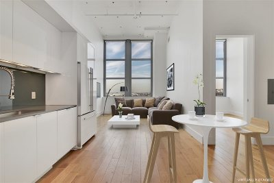 Jersey City Condo/Townhouse For Sale: 50 Dey St #458