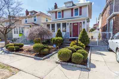 North Bergen Single Family Home For Sale: 909 80th St