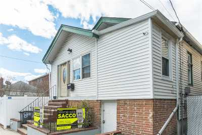North Bergen Single Family Home For Sale: 8709 1st Ave