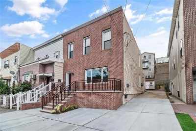 Jersey City Single Family Home For Sale: 550 Liberty Ave