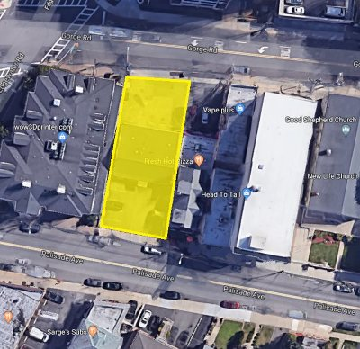 Cliffside Park Residential Lots & Land For Sale: 458 Palisade Ave