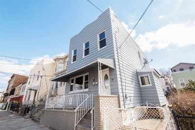 Jersey City Single Family Home For Sale: 102 Van Horne St