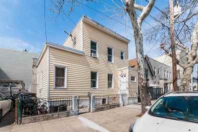 Jersey City Single Family Home For Sale: 7 Pierce Ave