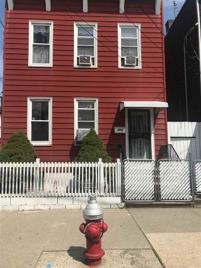 Jersey City Single Family Home For Sale: 422 Union St