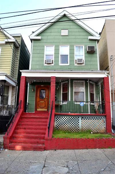 Jersey City Multi Family Home For Sale: 238 Clinton Ave