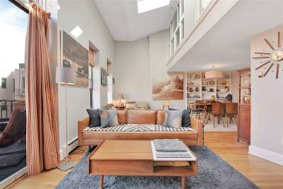 Hoboken Condo/Townhouse For Sale: 1115 Willow Ave #504