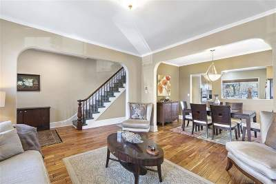 Weehawken Single Family Home For Sale: 92 Hackensack Plank Rd