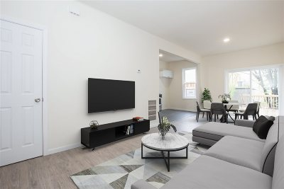 Jersey City Condo/Townhouse For Sale: 82 Beach St #1