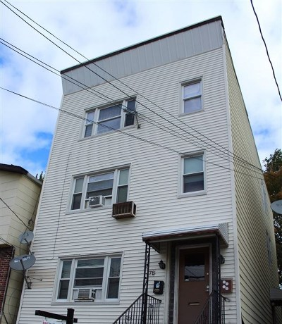 Jersey City Multi Family Home For Sale: 78 Pamrapo Ave