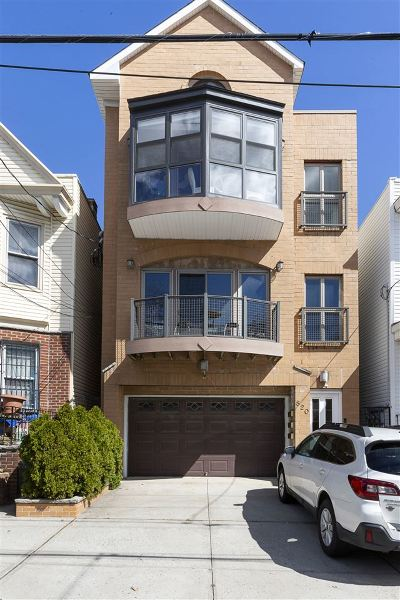 Jersey City Condo/Townhouse For Sale: 820 Pavonia Ave #3