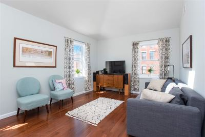 Jersey City Condo/Townhouse For Sale: 330 4th St #3