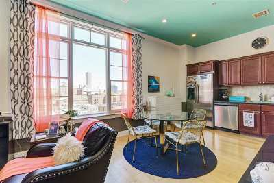 Jersey City Condo/Townhouse For Sale: 769 Montgomery St #601