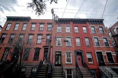 Hoboken Single Family Home For Sale: 161 10th St