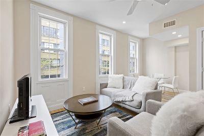 Hoboken Condo/Townhouse For Sale: 709 Monroe St #2