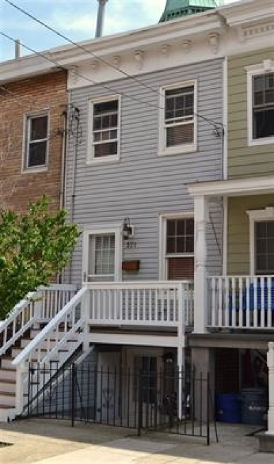 Jersey City Single Family Home For Sale: 331 7th St
