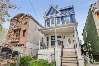 Jersey City Single Family Home For Sale: 237 Clinton Ave