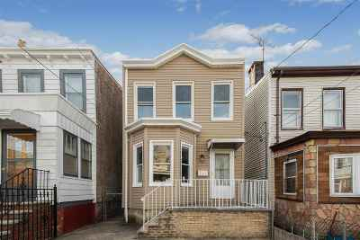 Jersey City Single Family Home For Sale: 103 Lexington Ave