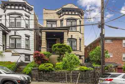 Weehawken Multi Family Home For Sale: 48 Hauxhurst Ave