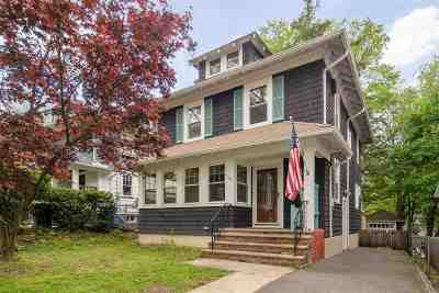 Rutherford Single Family Home For Sale: 169 West Newell Ave