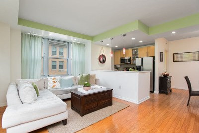 Jersey City Condo/Townhouse For Sale: 149 Essex St #4G