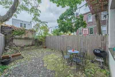 Jersey City Condo/Townhouse For Sale: 164 Hutton St #1L