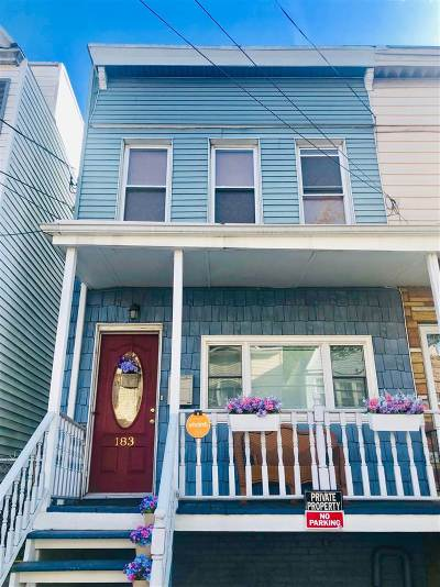 Jersey City Single Family Home For Sale: 183 Lexington Ave