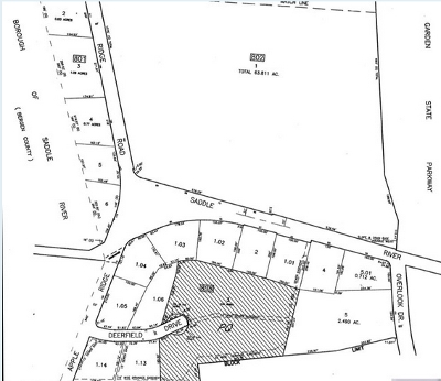 Woodcliff Lake Residential Lots & Land For Sale: Deerfield Dr