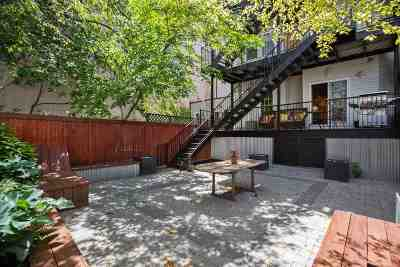 Hoboken Condo/Townhouse For Sale: 413 Madison St #1