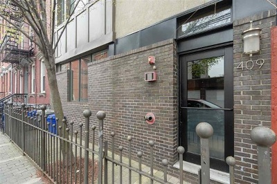 Hoboken Condo/Townhouse For Sale: 409 4th St #4