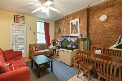 Jersey City Condo/Townhouse For Sale: 250 York St #1D