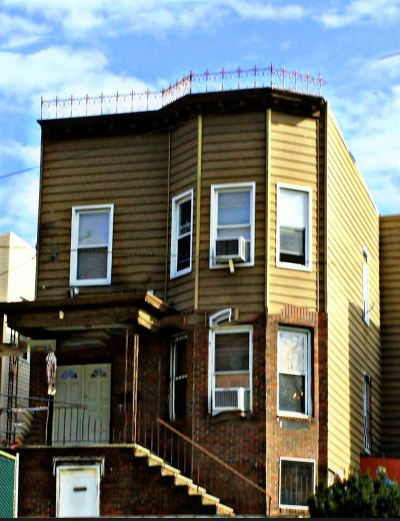 Weehawken Multi Family Home For Sale: 3324 Park Ave