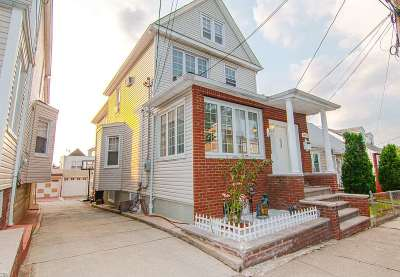 North Bergen Single Family Home For Sale: 9123 Durham Ave