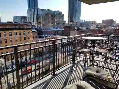 Jersey City Condo/Townhouse For Sale: 135 Montgomery St #8E